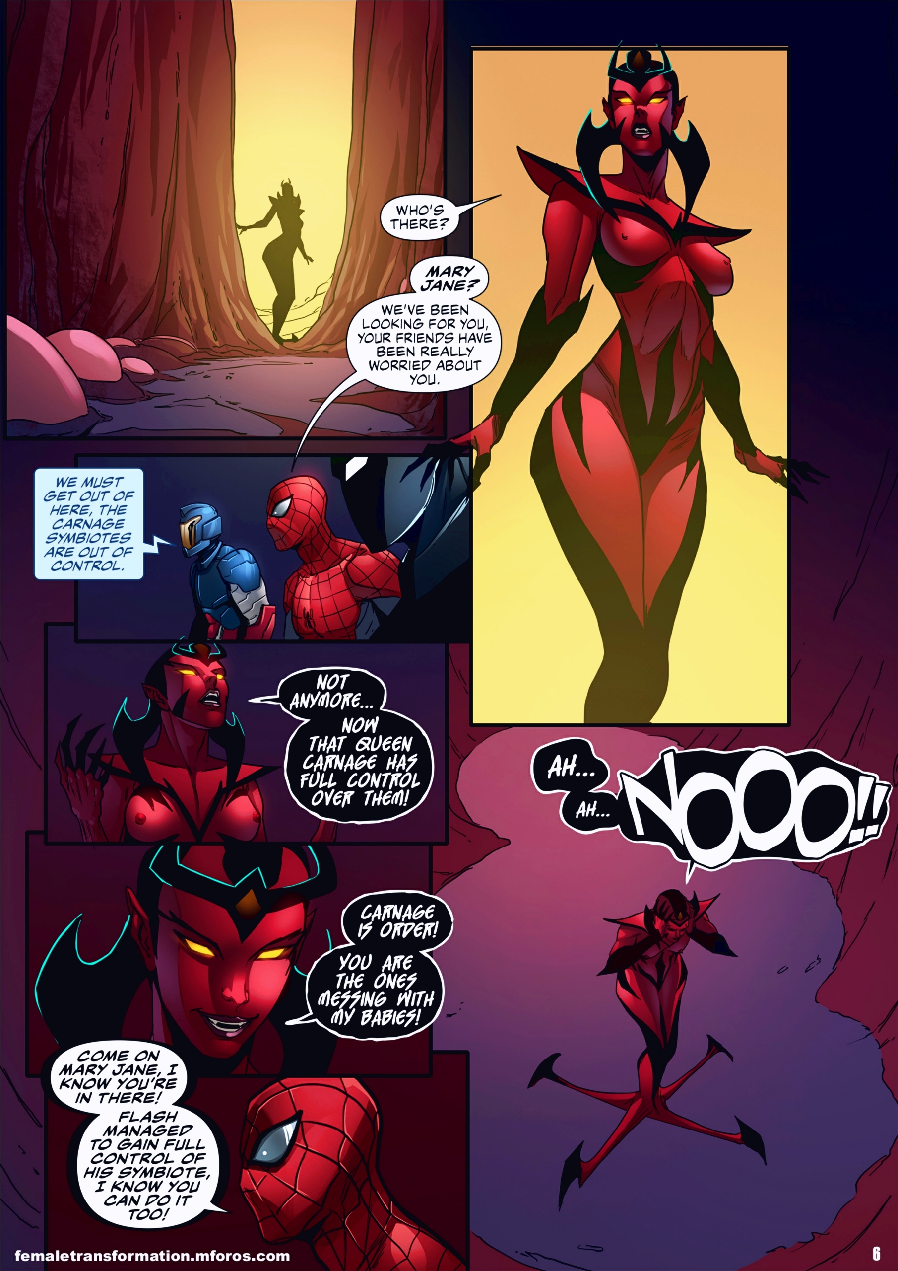 Symbiote Queen 2 page 07