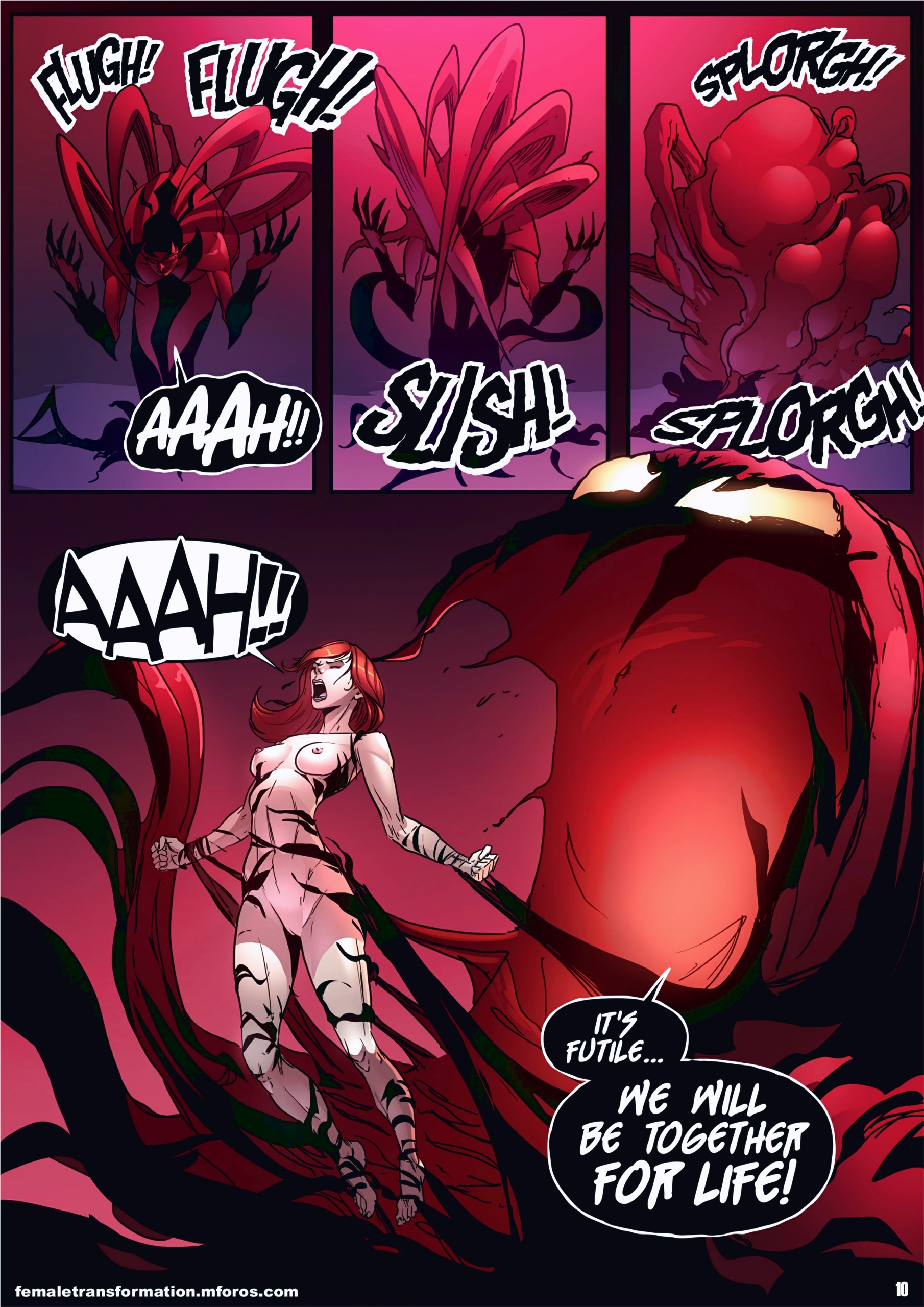 Symbiote Queen 2 page 11