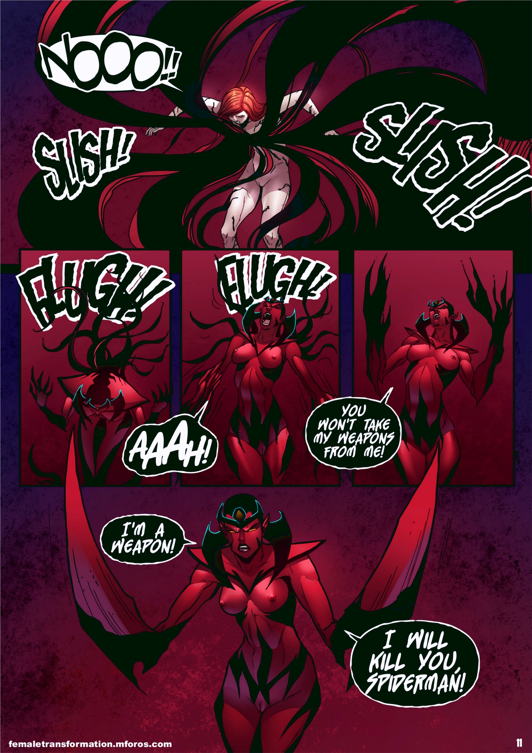 Symbiote Queen 2 page 12