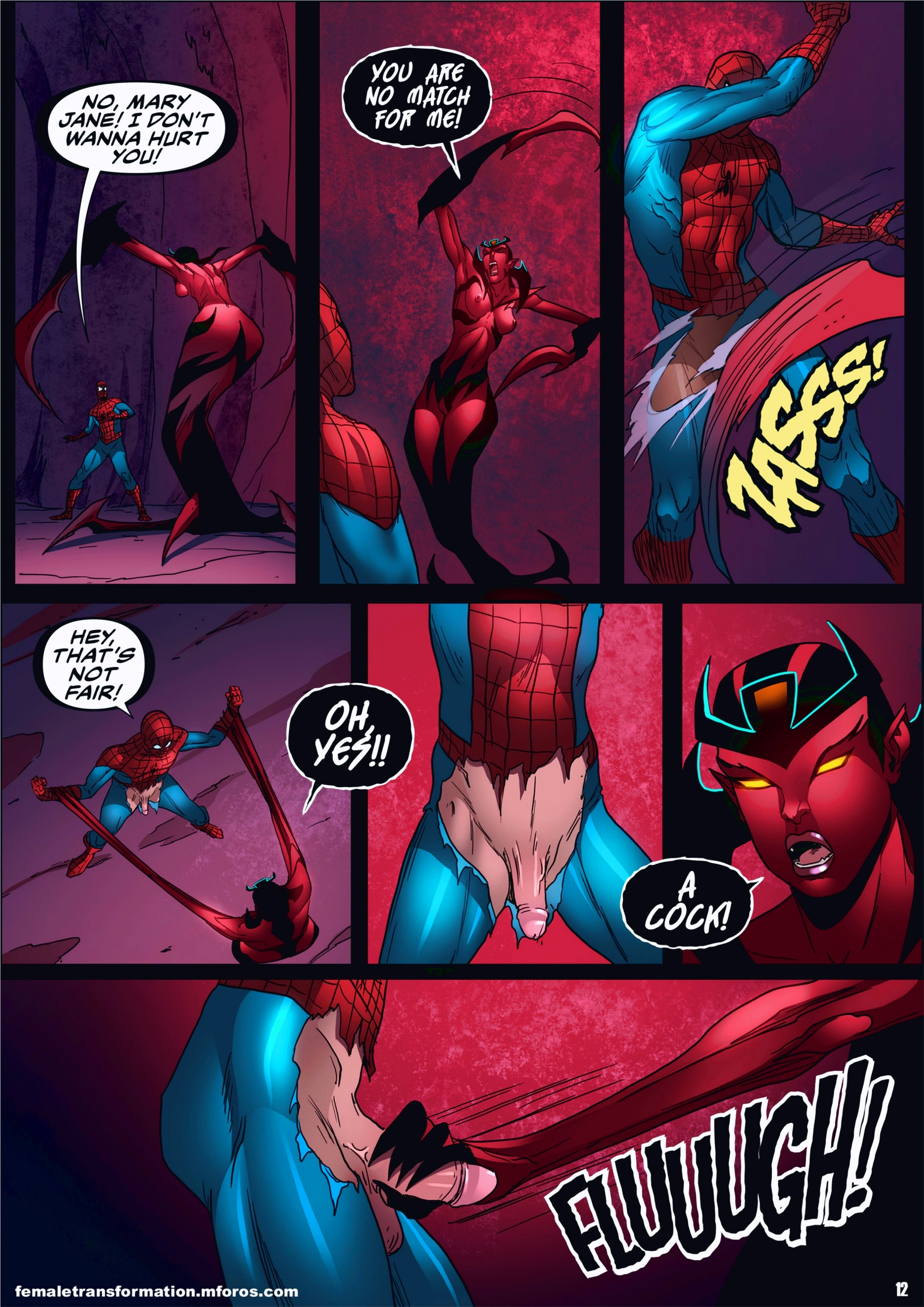 Symbiote Queen 2 page 13