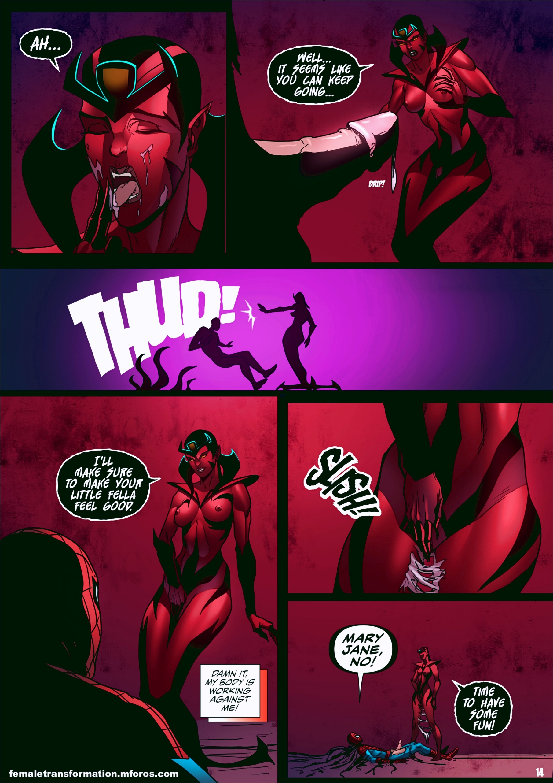 Symbiote Queen 2 page 15