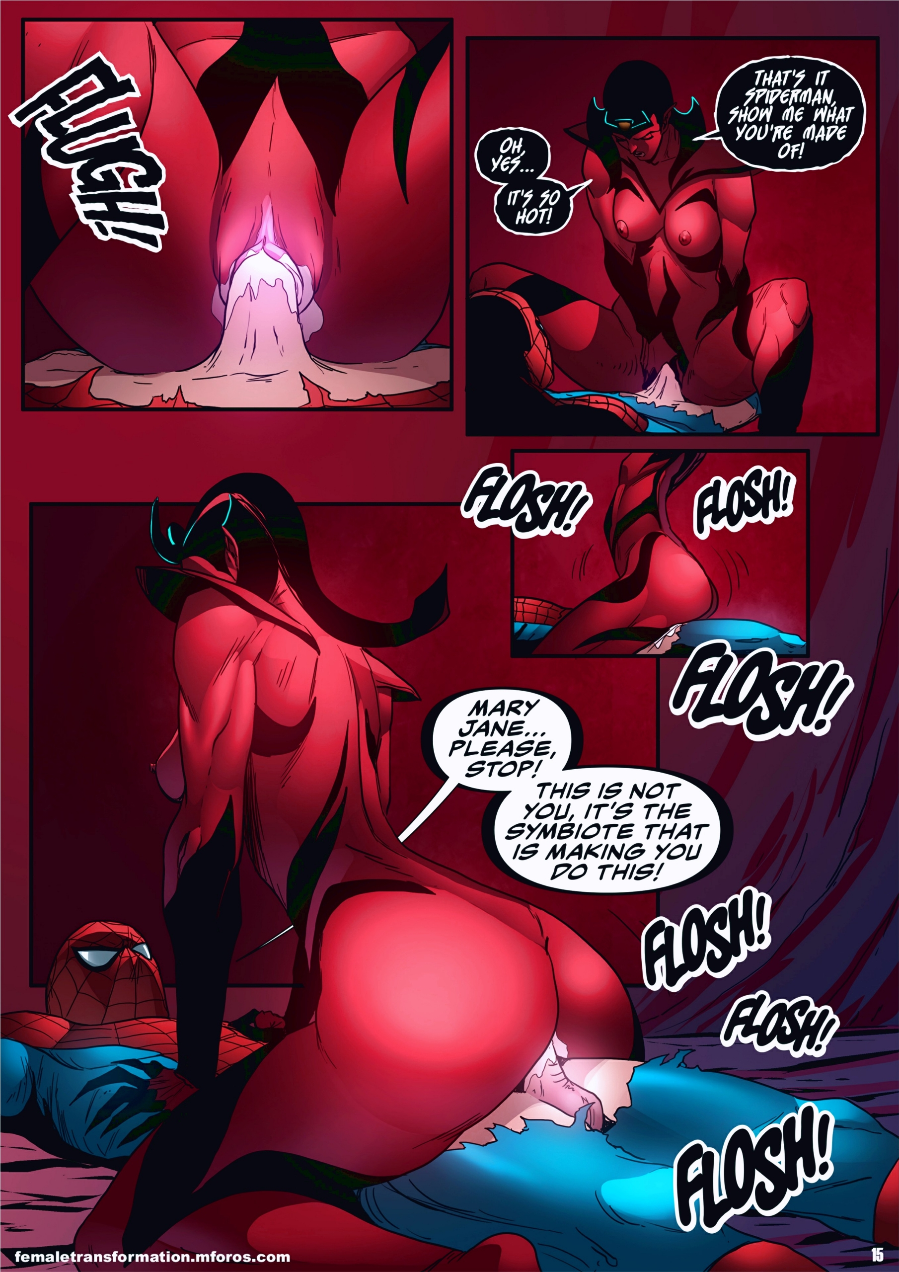 Symbiote Queen 2 page 16