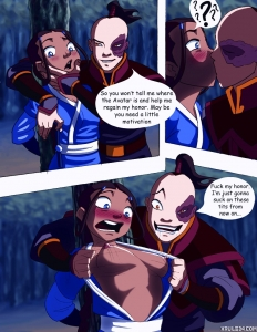 Taking the head porn comic page 001 on category Avatar: The Last Airbender