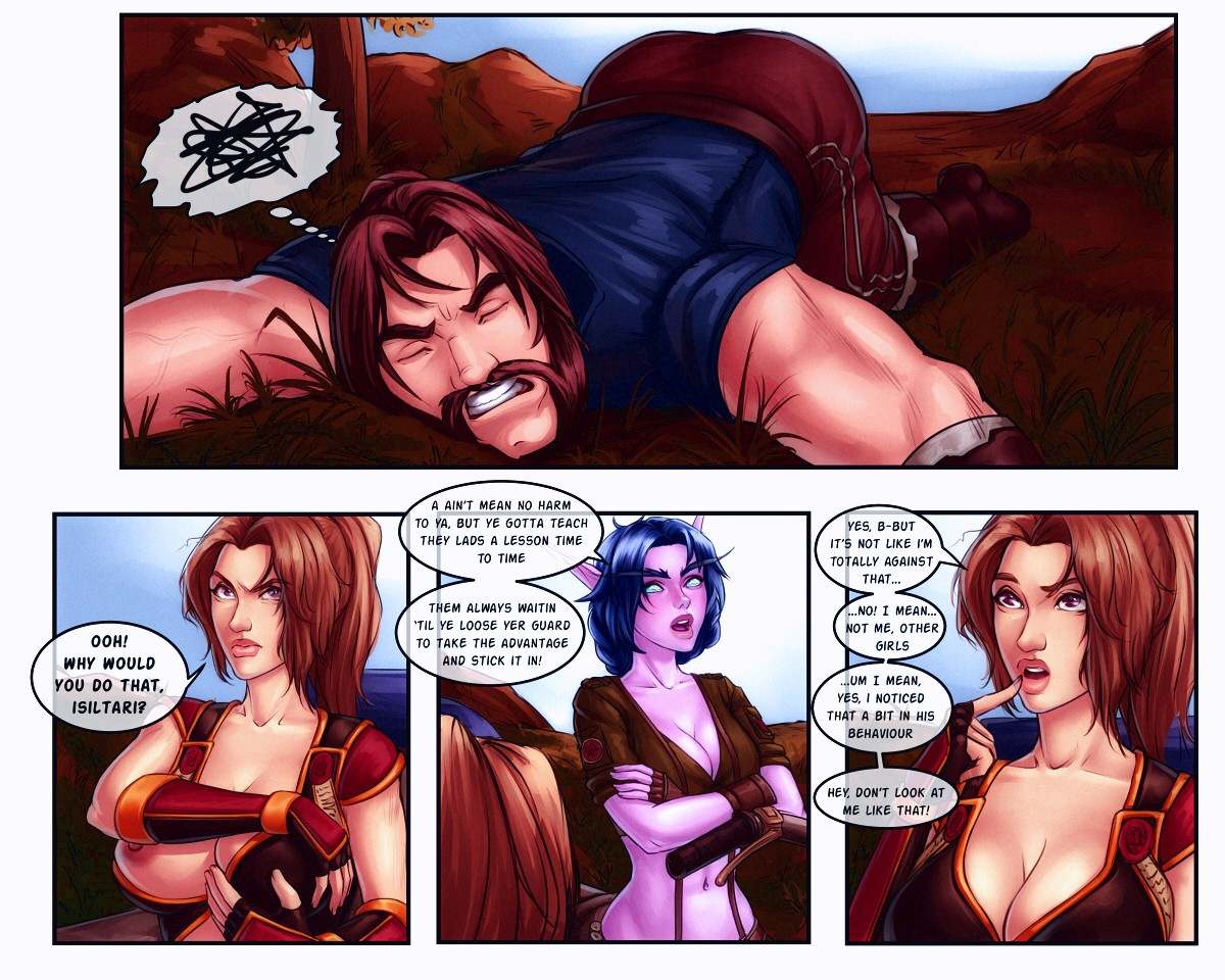The Booty Hunters porn comic page 006