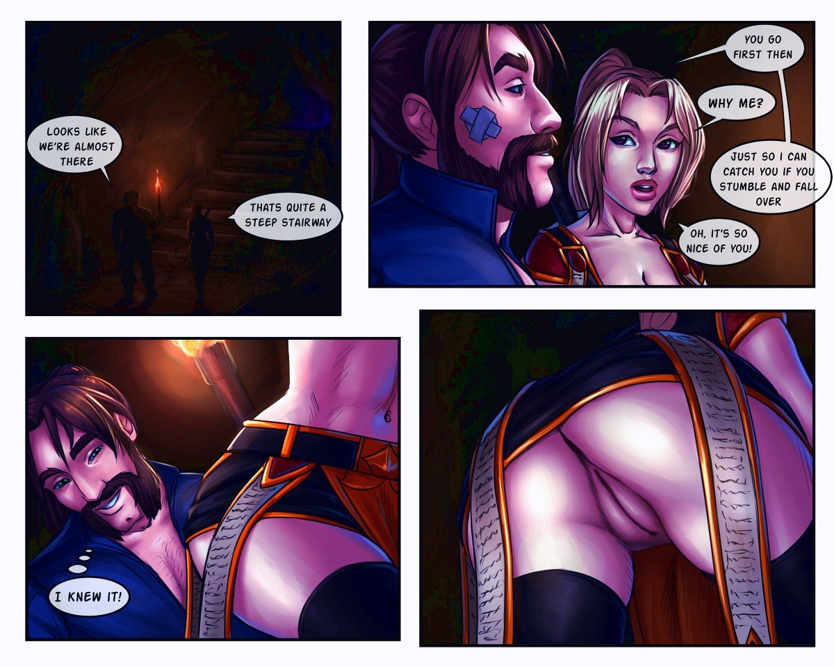 The Booty Hunters porn comic page 010