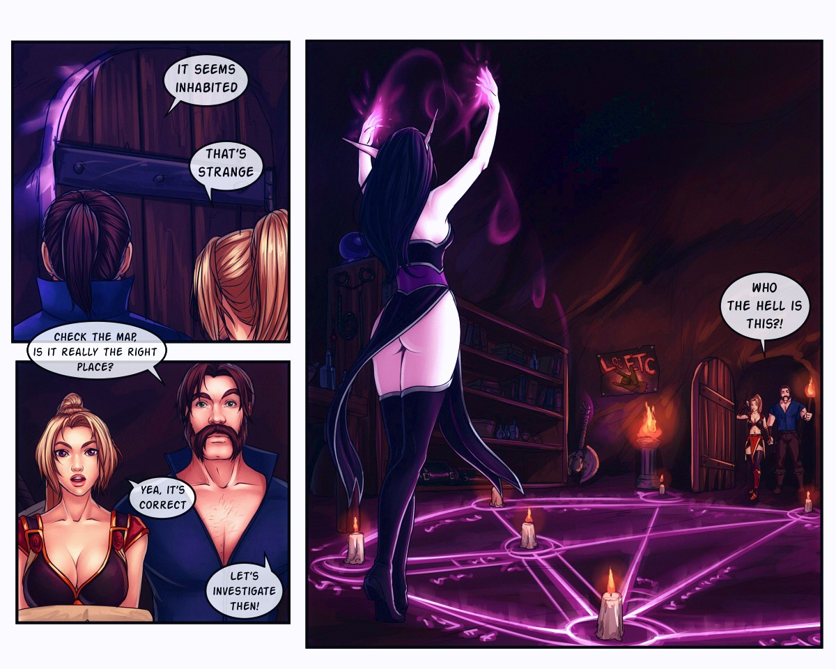 The Booty Hunters porn comic page 011