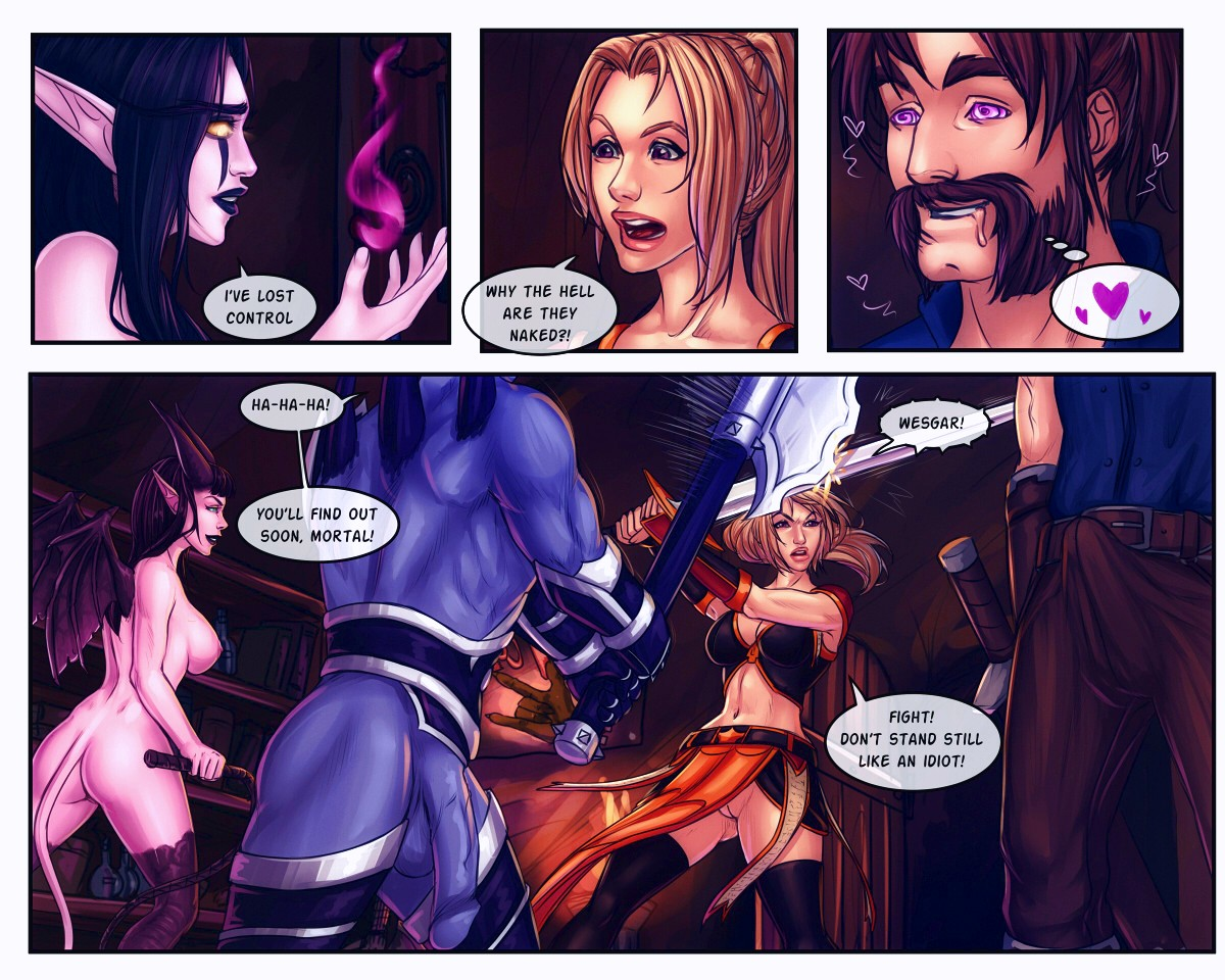 The Booty Hunters porn comic page 014