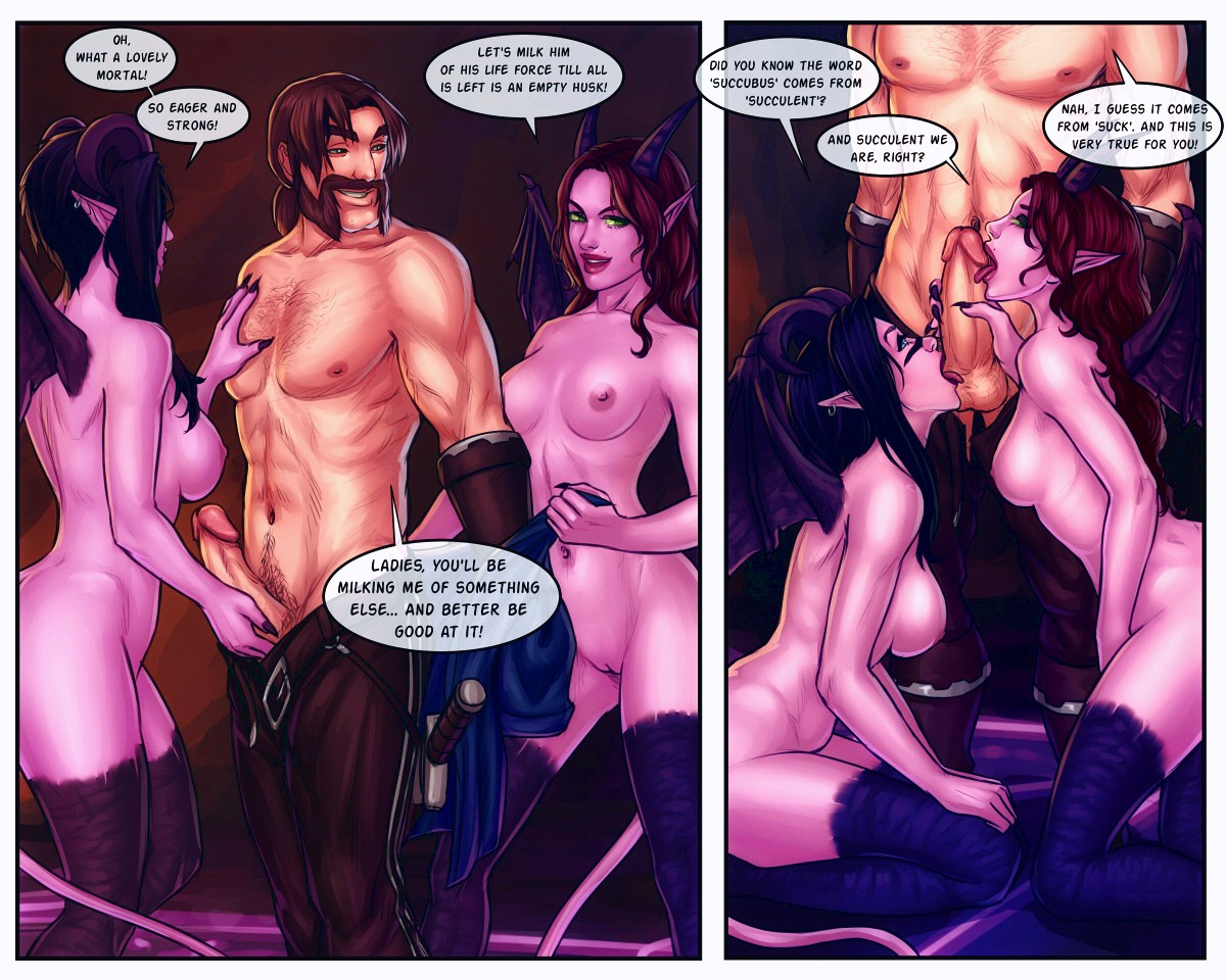 The Booty Hunters porn comic page 019