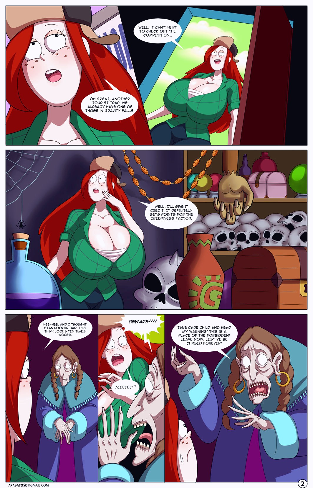 The Multiverse Hypno Harem porn comic page 037