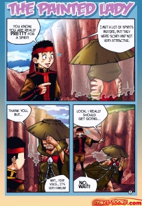 The Painted Lady porn comic page 001 on category Avatar: The Last Airbender