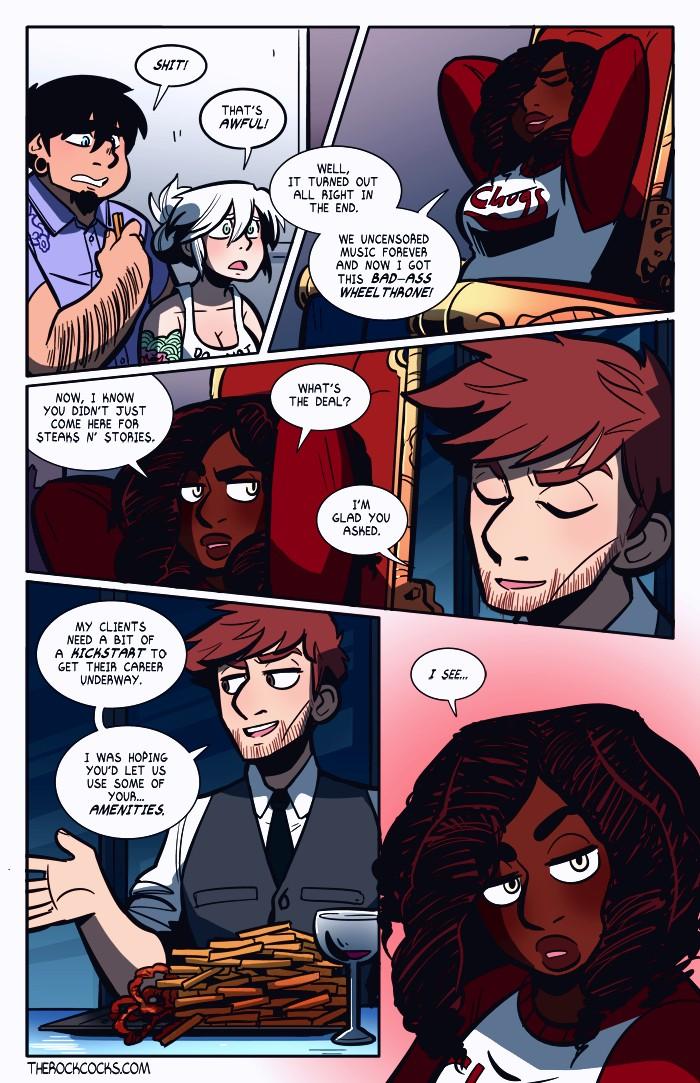 The Rock Cocks 4 porn comic page 020
