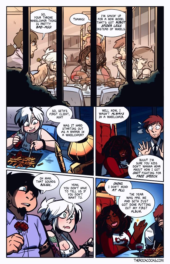 The Rock Cocks 4 porn comic page 021