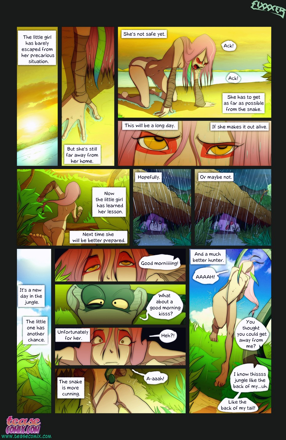The Snake and The Girl 2 page 11