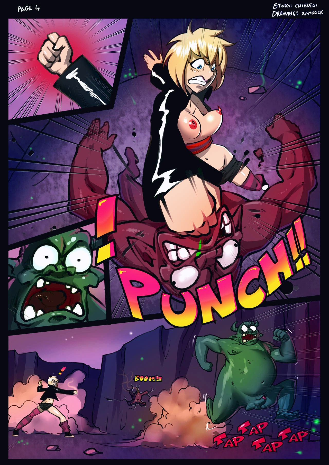 Tia in a new hell porn comic page 004