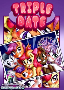 Triple Date porn comic page 001 on category My Little Pony