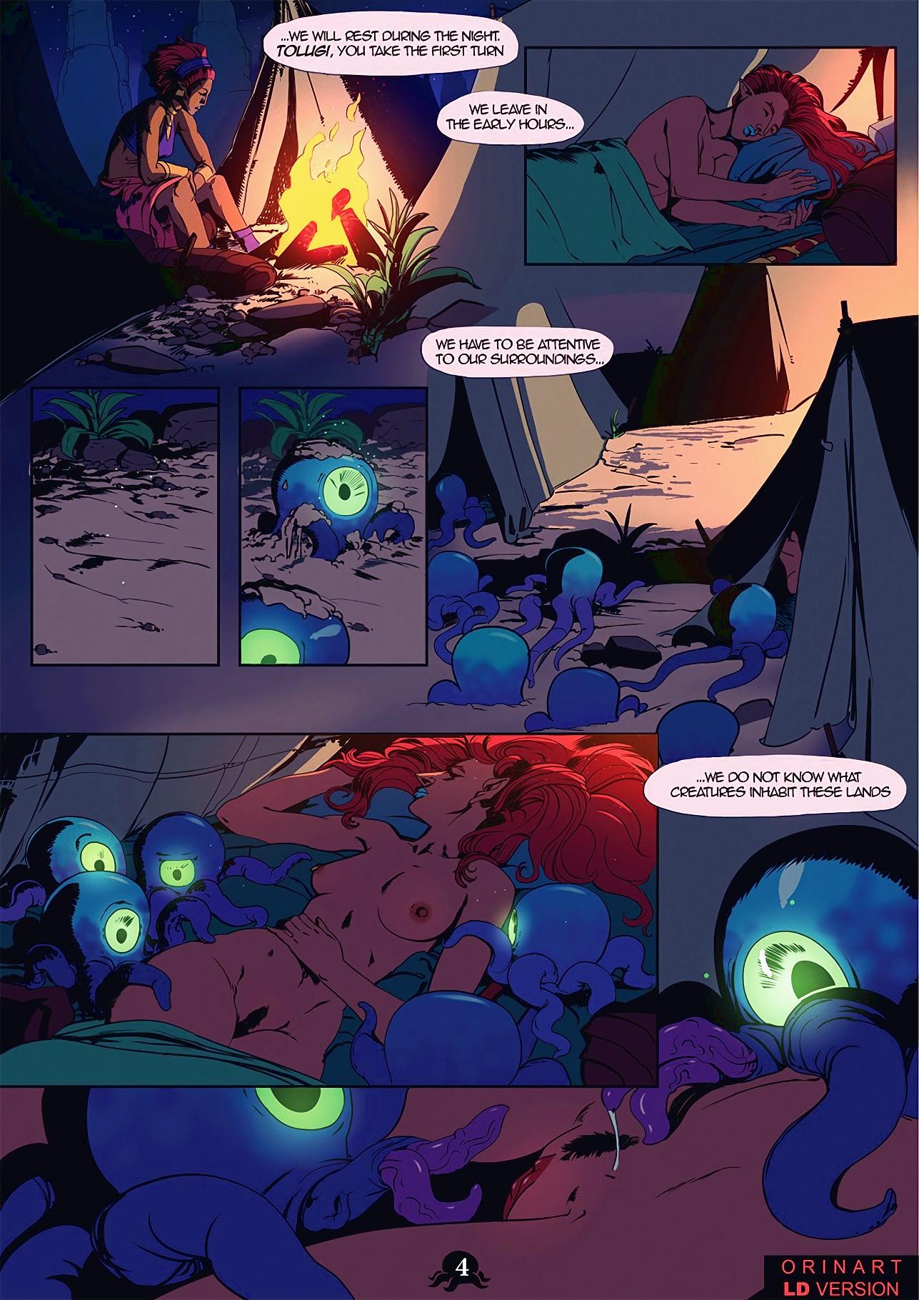 Urbosa's Quest porn comic page 163