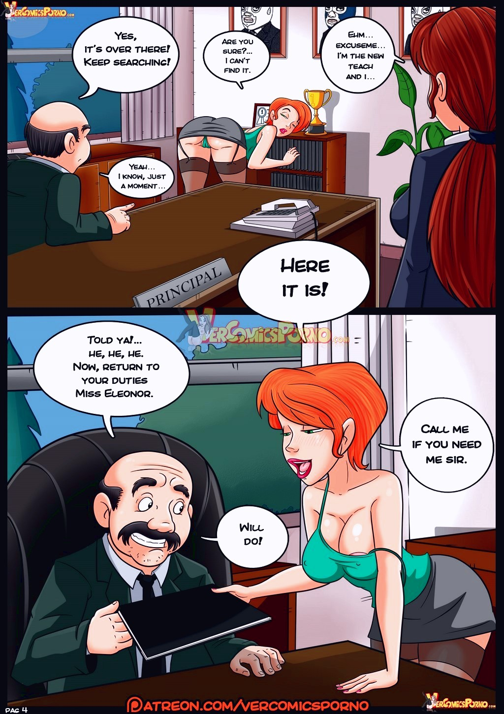 Valery Chronicles porn comic page 005