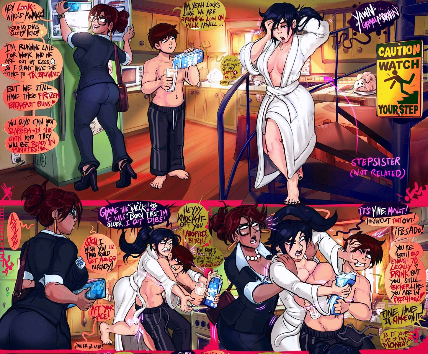 Watch Your Stepr porn comic page 1