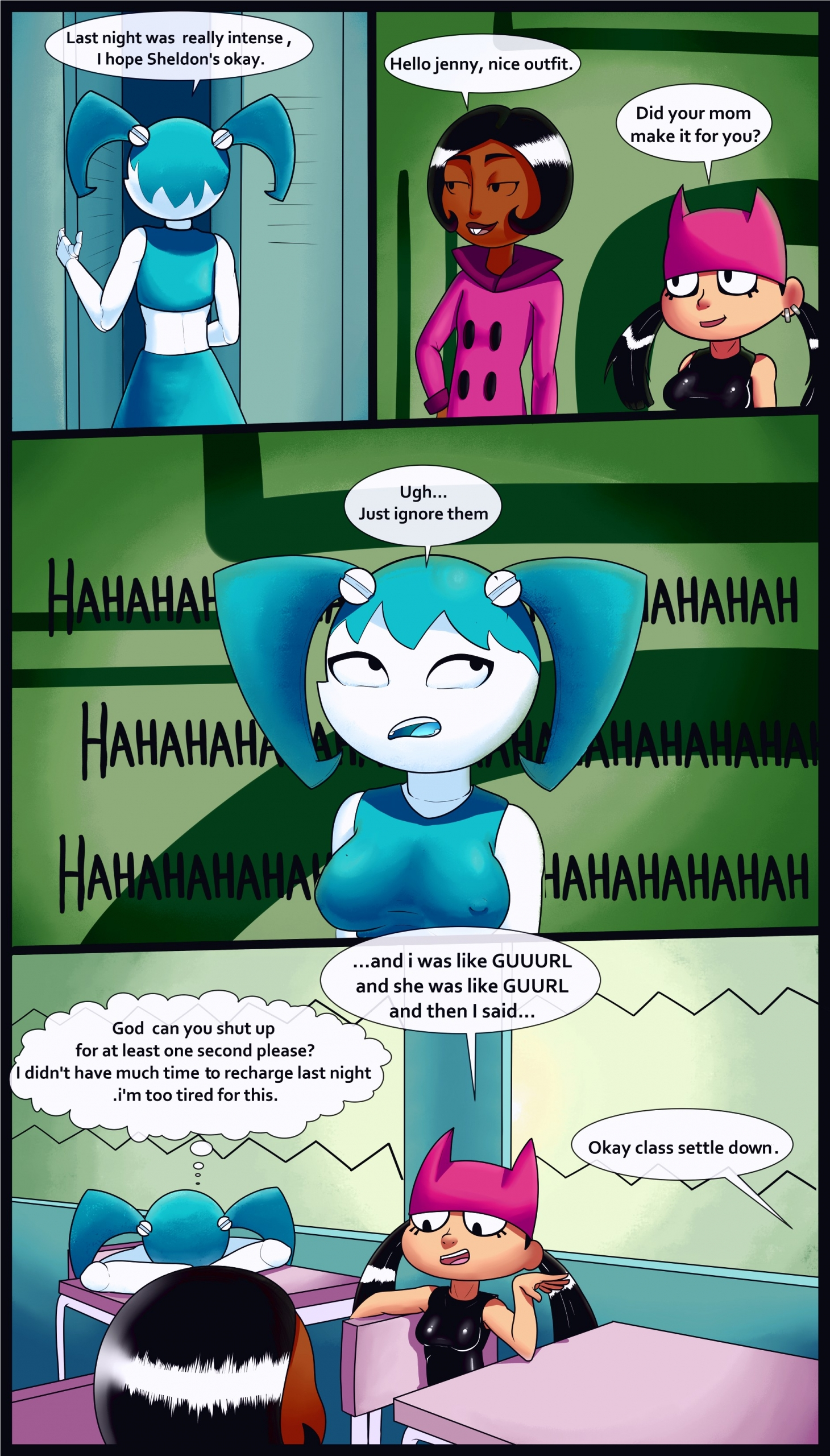 Xj9 2 porn comic page 001 on category My Life as a Teenage Robot
