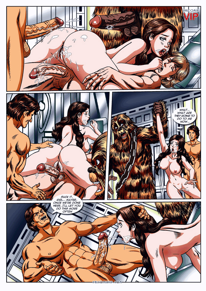 star wars porn comic page 10