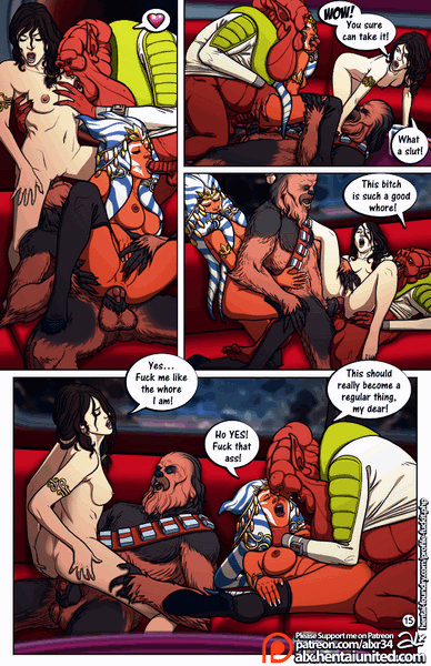 star wars porn comic page 16