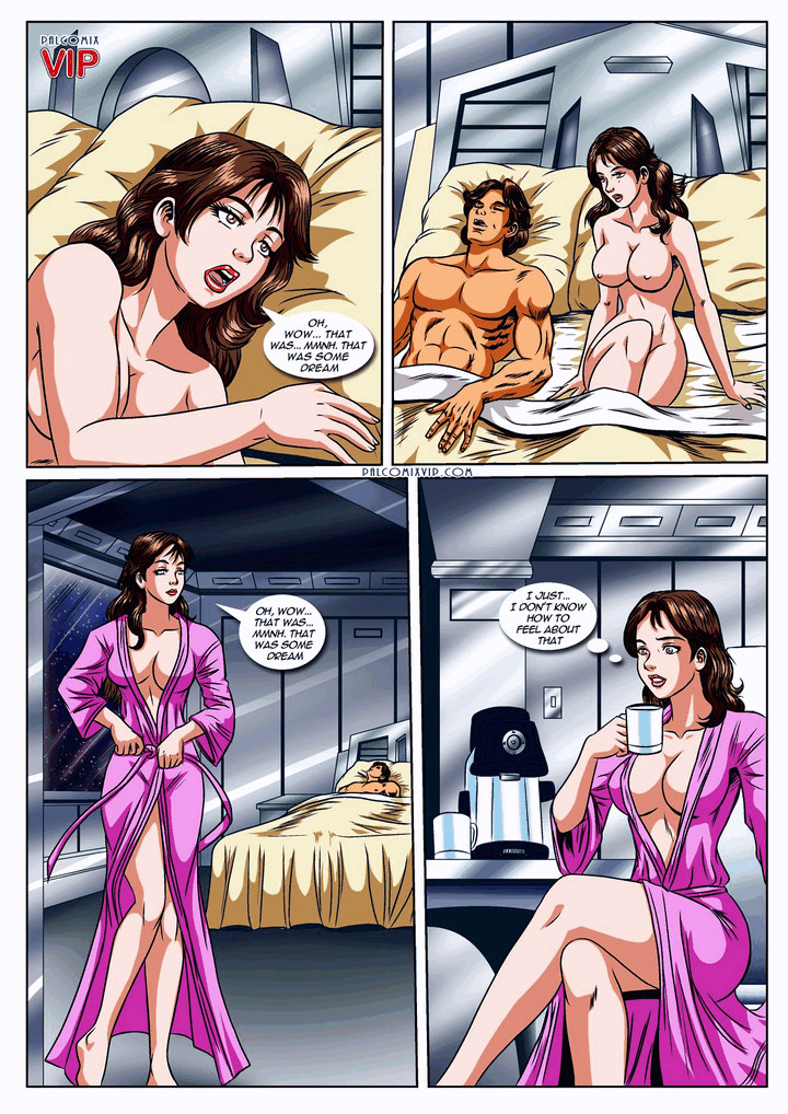 star wars porn comic page 17