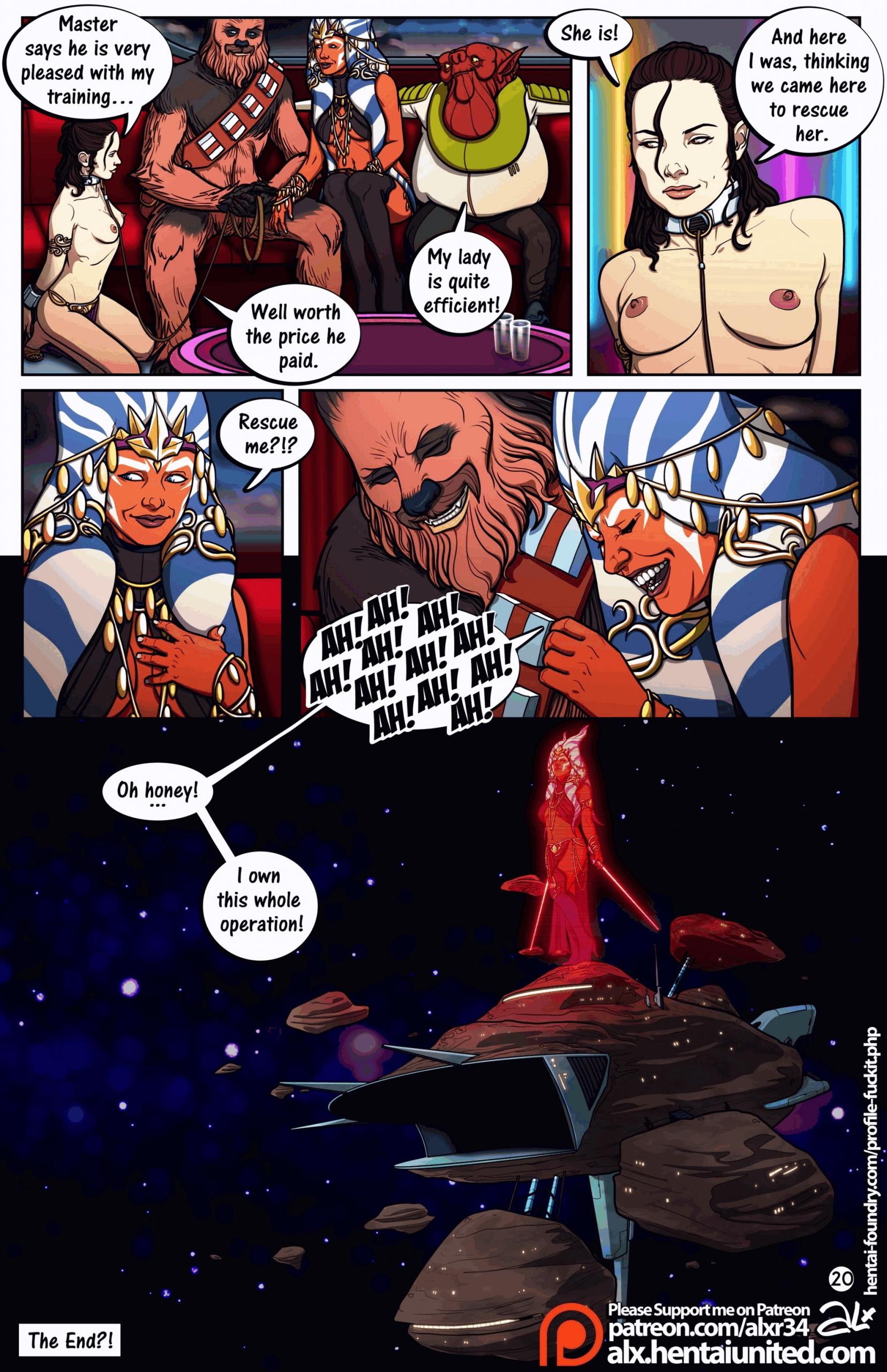 star wars porn comic page 21