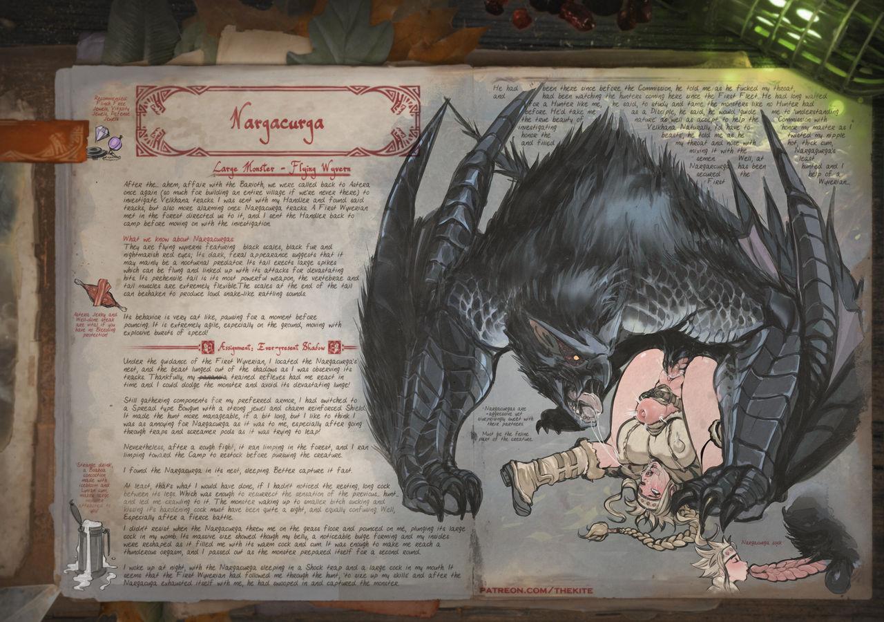 Hunter world porn monster Monster Hunter: