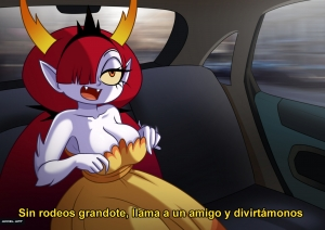 Waifu Taxi: Hekapoo porn comic on category Star vs the Forces of Evil