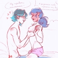 First time porn comic page 01 on category Miraculous Ladybug