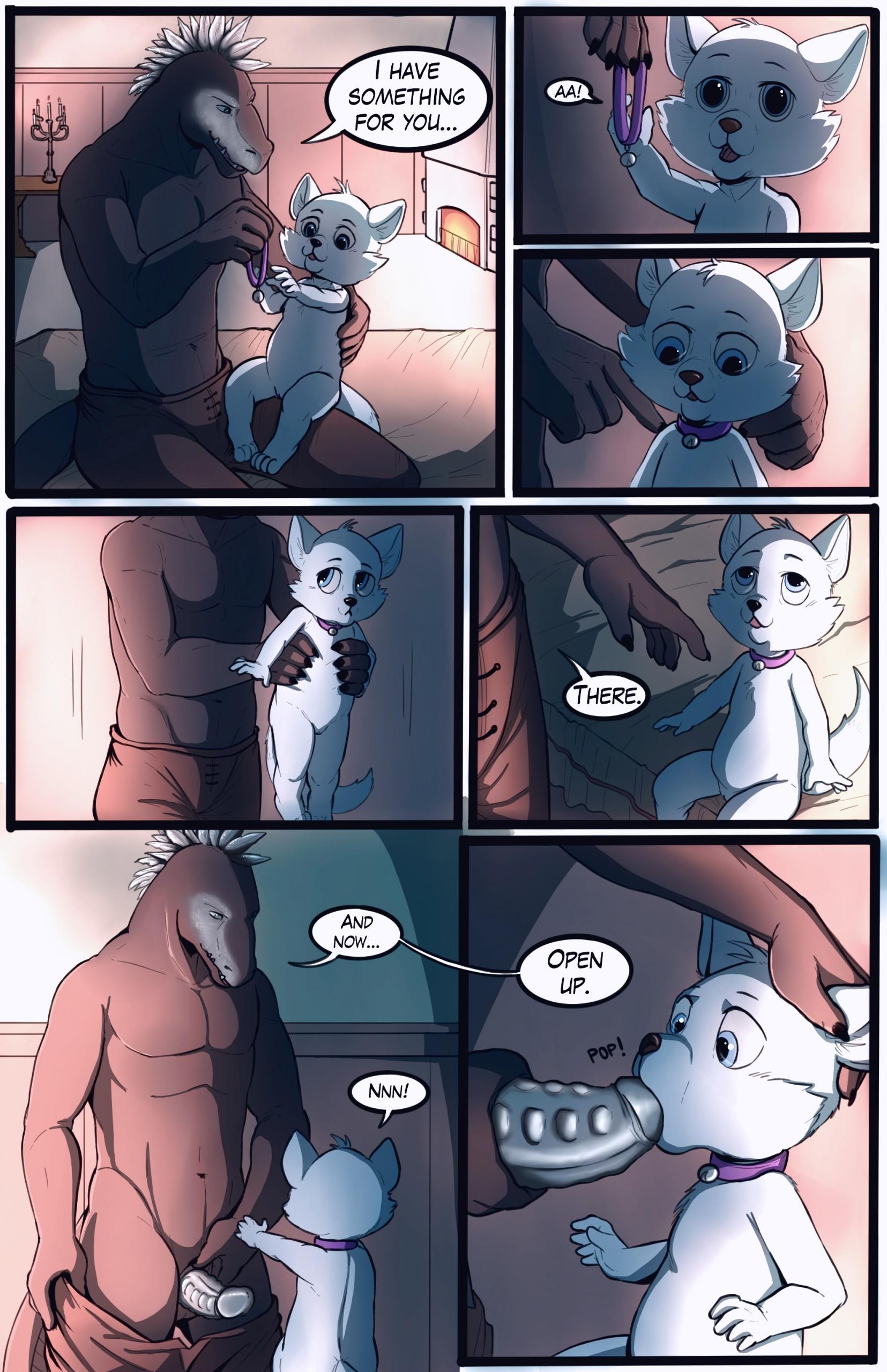 Good Girl furry porn comic page 01