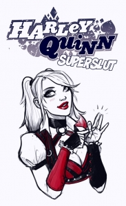 Harley Quinn Superslut porn comic page 01 on category Batman