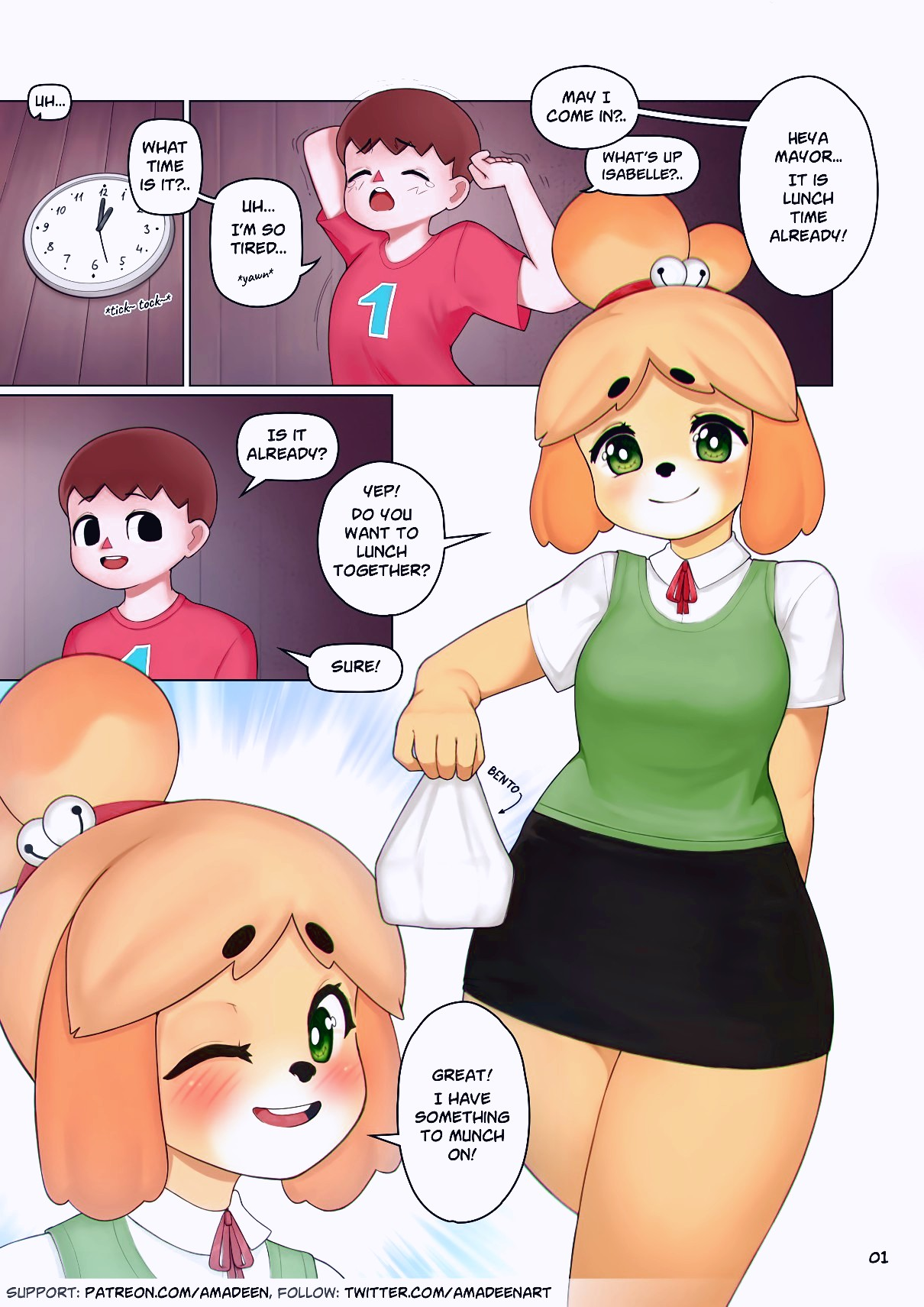 Isabelle's Lunch Incident page 02