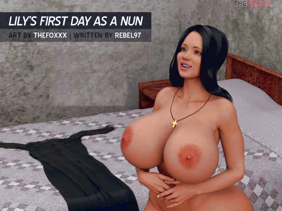 Lily's First Day As A Nun 3d porn comic page 01