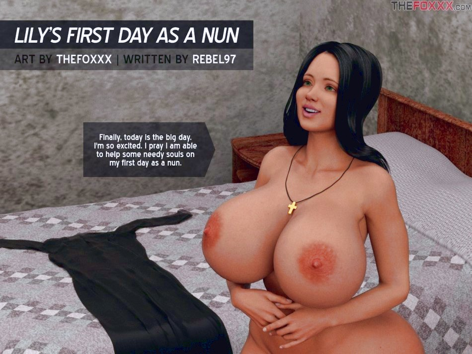 Lily's First Day As A Nun porn comic page 02