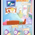 Peaches and Cream - Breakfast In Bed furry porn comic page 01