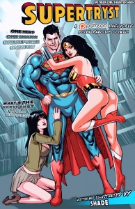 Supertryst porn comic page 01 on category Superman, Justice League