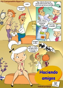 Haciendo Nuevos Amigos porn comic page 01 on category The Jetsons