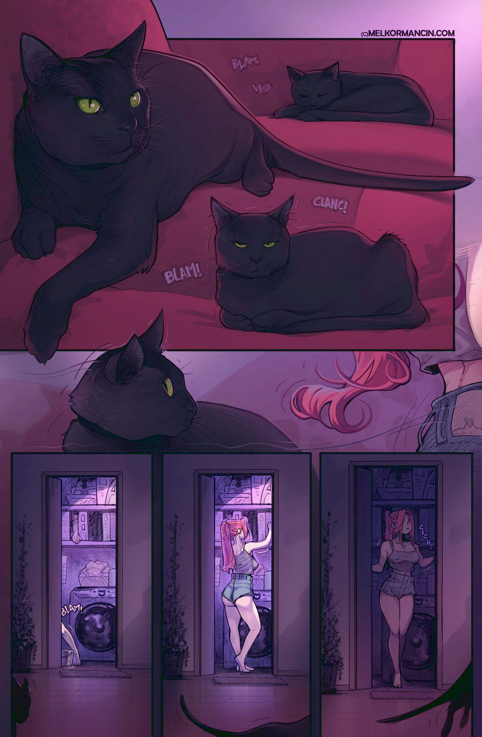 Hearts porn comic page 01