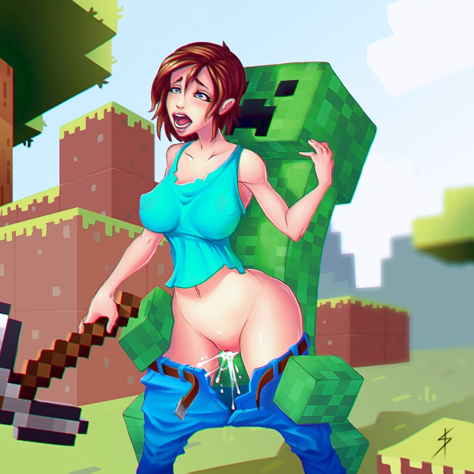 Minecraft porn pics page 35