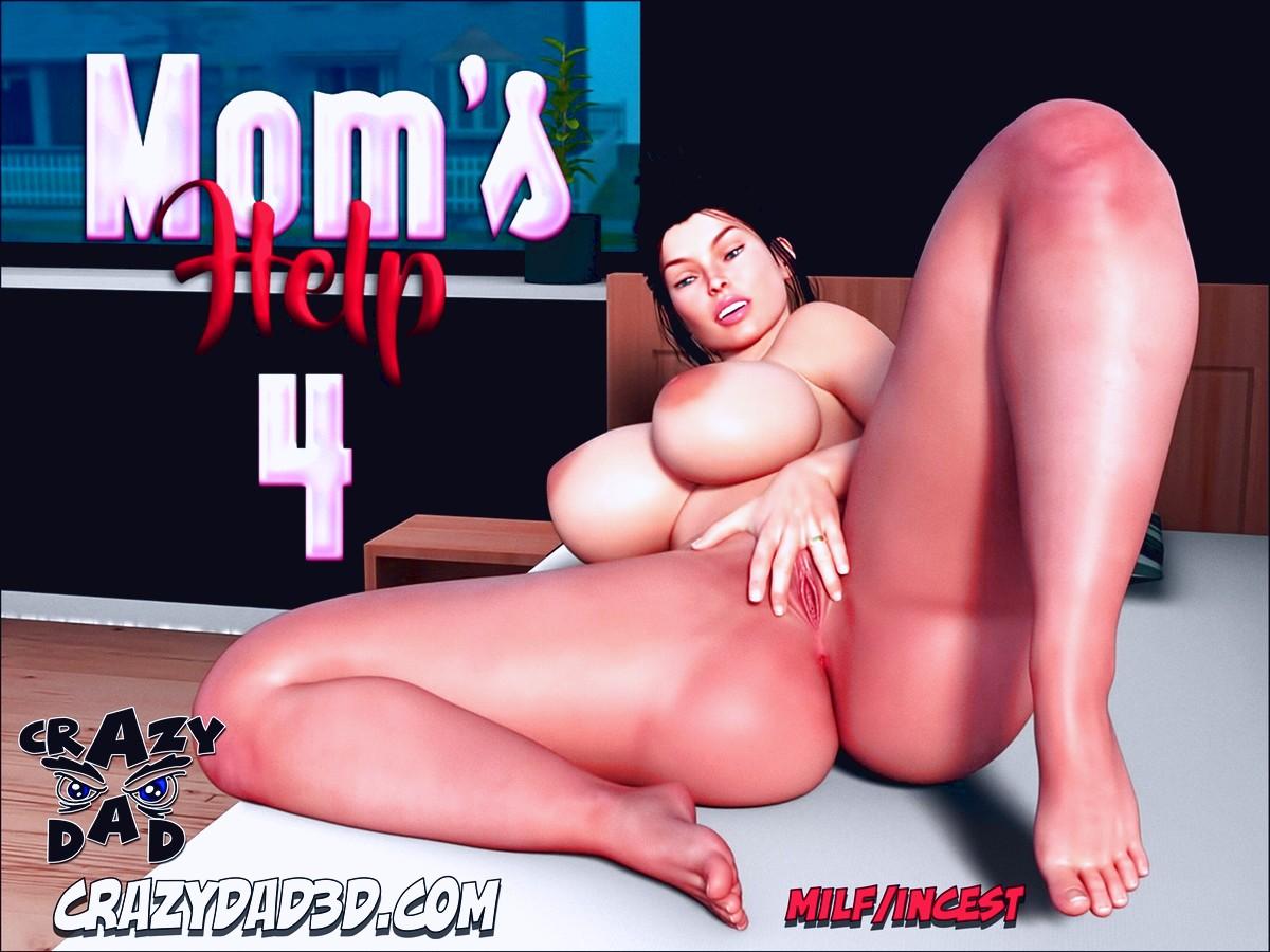 Mom's Help 4 3d porn comic page 01
