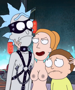 Rick and Morty – cartoon porn video