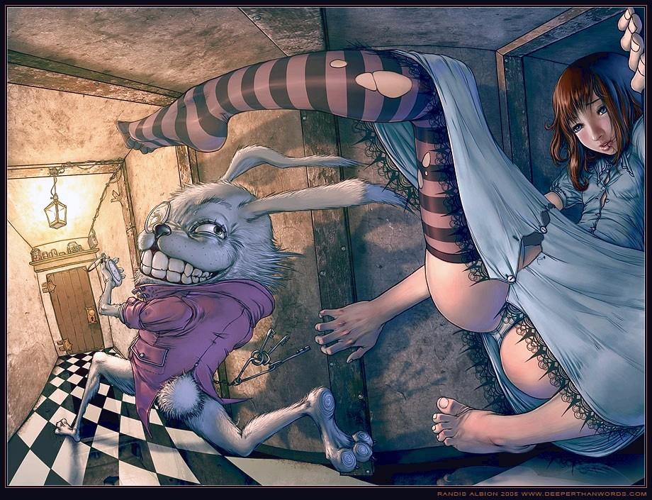 Alice In The Wonderland Porn