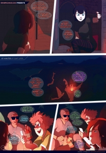 Beyond the Hotel porn comic page 01 on category Hotel Transylvania