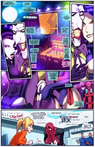 Crazy Insane Sex porn comic page 01 on category Teen TItans