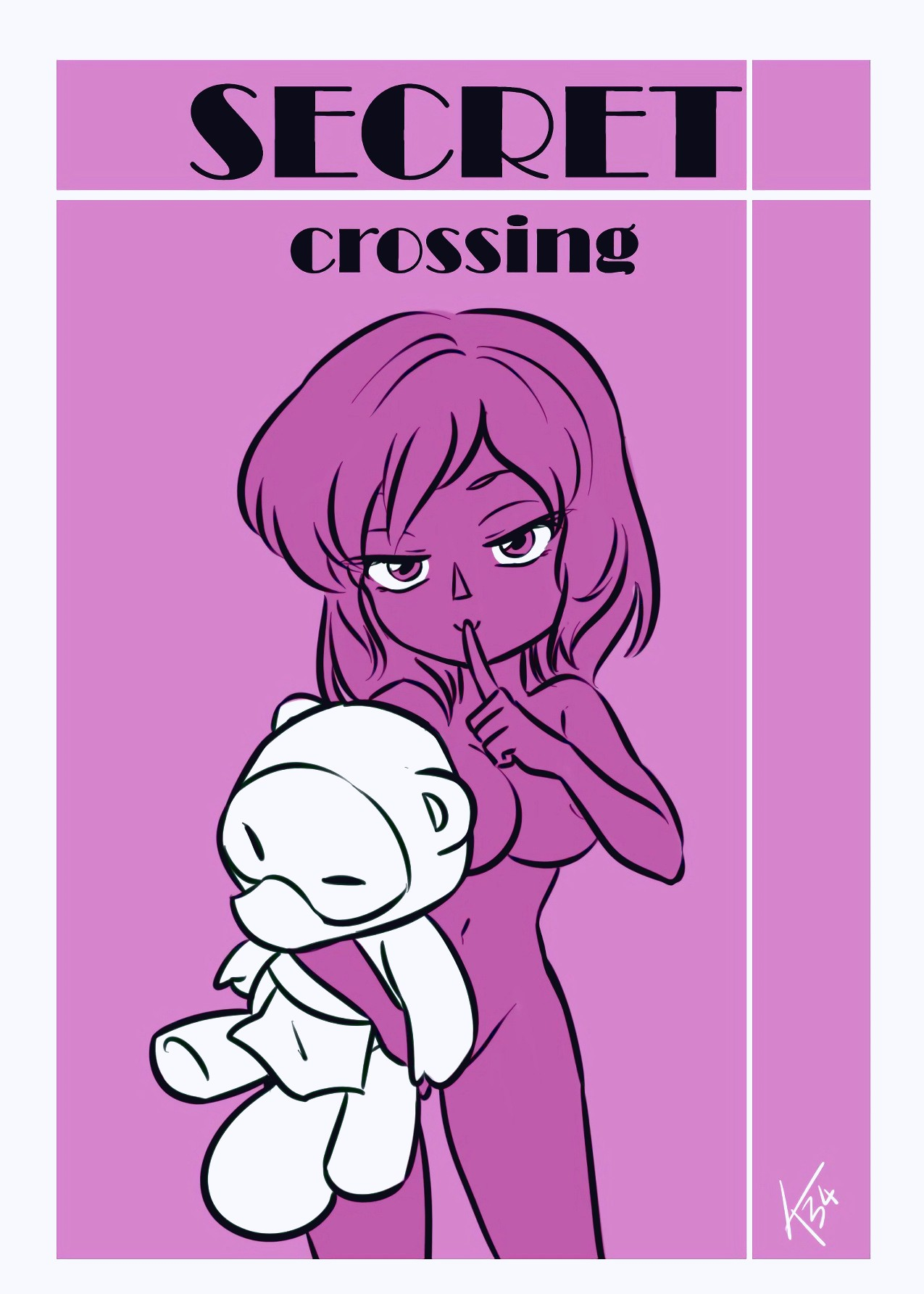Secret Crossing porn comic page 01 on category Animal Crossing