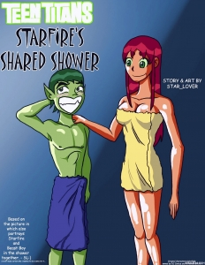 Starfire's Shared Shower