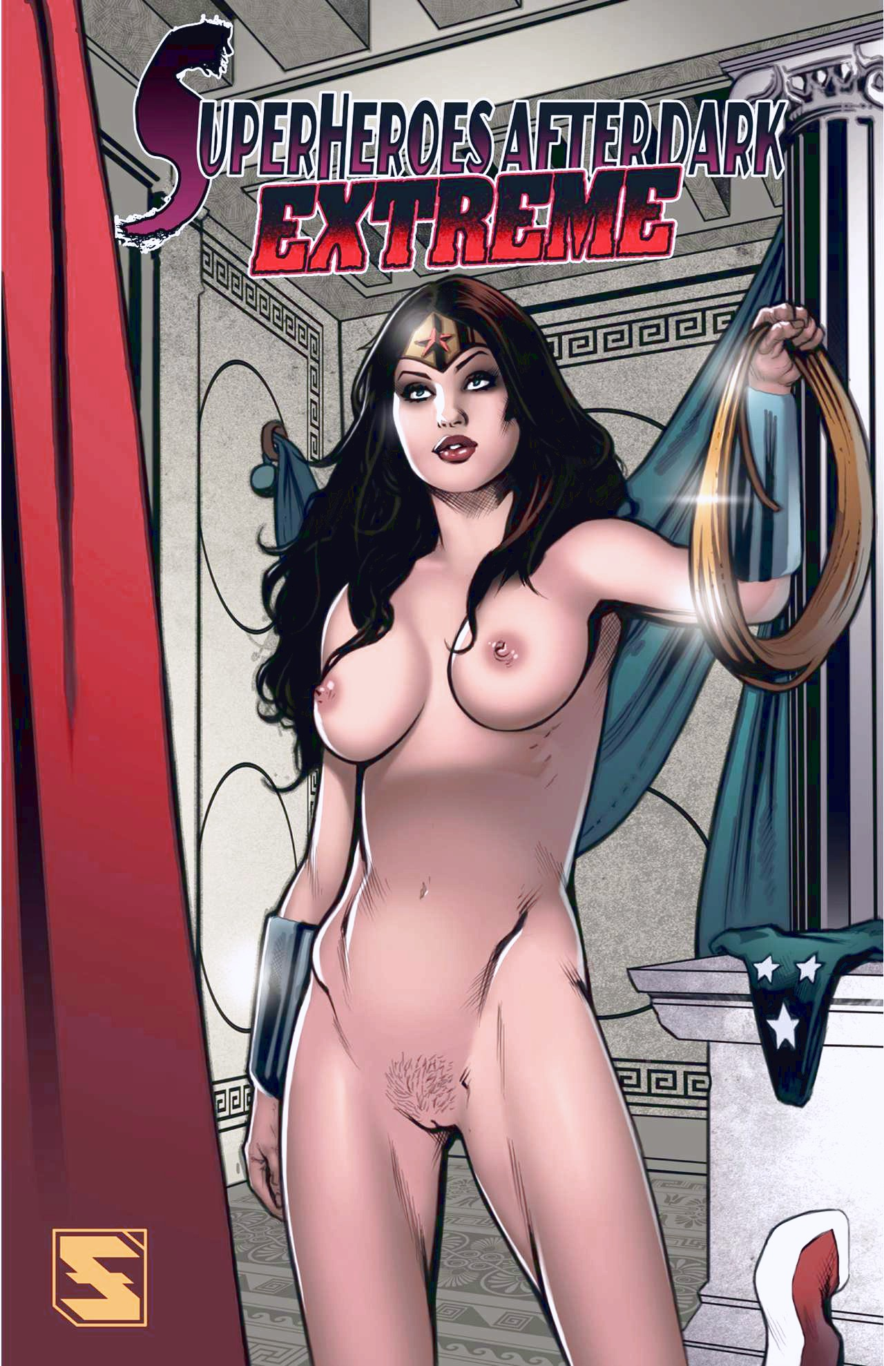 Superheroes After Dark Extreme porn comic page 01