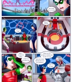 Superheros porn comic page 01 on category Teen Titans