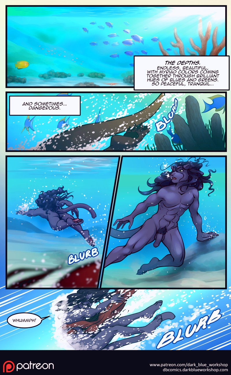 The Depths furry porn comic page 01